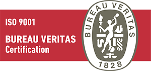 Our quality management system has been audited by Bureau Veritas.